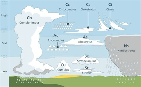 what kind of clouds usually form in a cold front clouds lesson 0112 tqa explorer