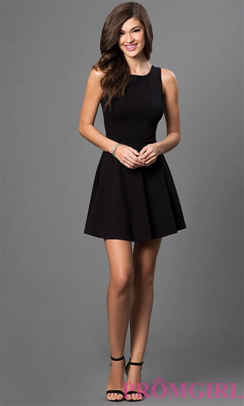 All black party dresses