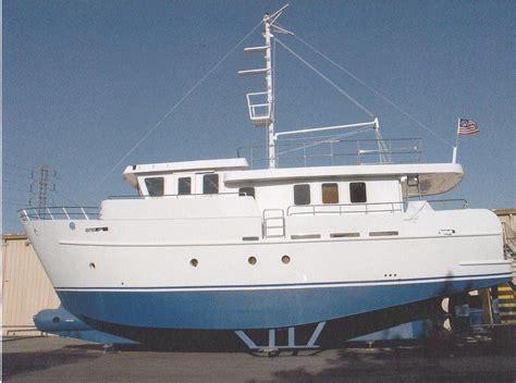 precision trawler pilothouse trawler boat