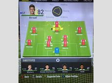 Leaked Arsenal's FIFA 17 player ratings [Graphic]