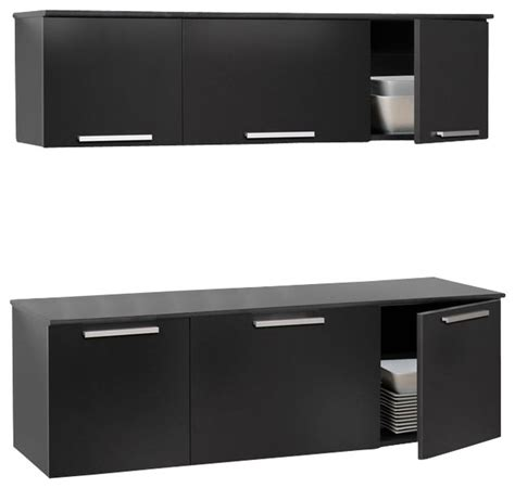 black wall mounted desk prepac coal harbor black wall mounted buffet and hutch