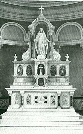 high altars side altars reredos   marble high altar
