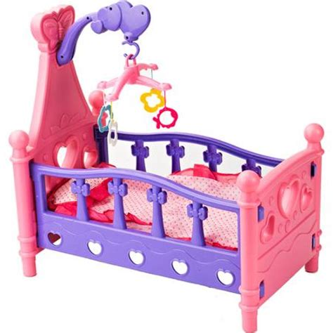 Baby Doll Beds Walmart by Badger Basket Hearts Doll Crib With Pillow Blanket And