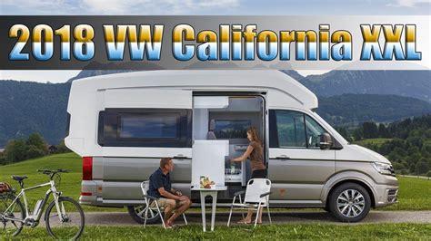 Volkswagen California Camper  2017, 2018, 2019 Volkswagen