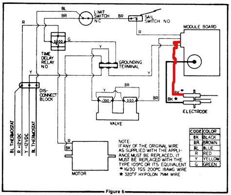 Coleman Furnace Thermostat Wiring Diagram by Coleman Evcon Thermostat Wiring Diagram