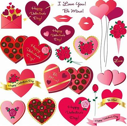 Clipart Valentines Vector Heart Graphics Mouth Pack