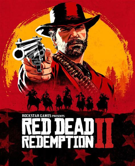 Cover Art From Red Dead Redemption 2 Art Illustration