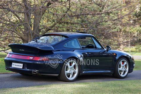 porsche  twin turbo coupe auctions lot  shannons