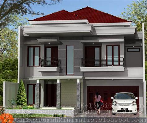 contoh gambar rumah minimalis  lantai desain rumah
