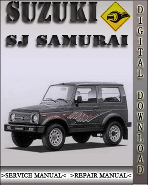 how to fix cars 1989 suzuki sj regenerative braking manual repair engine for a 1986 suzuki sj 410 suzuki samurai sj service repair manual 1987