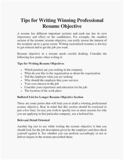 What Do U Put On A Resume by 68 Photos Of Resume Writing Objective Section
