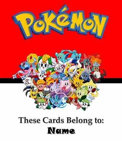 Binder Pokemon Card Covers