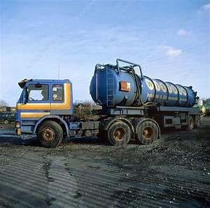 Hazardous waste disposal - Stock Image E840/0324 - Science ...