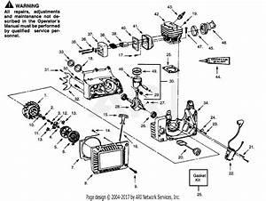 Poulan Pp365c Gas Saw  365c Gas Saw Parts Diagram For Internal Power Unit