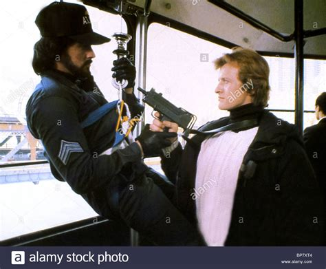 rutger hauer sylvester stallone movie sylvester stallone rutger hauer nighthawks 1981 stock