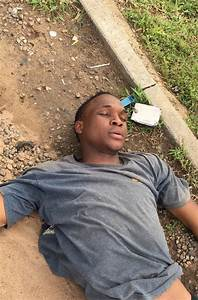 So Sad! See Young Man Who Collapsed in the Middle of Abuja ...