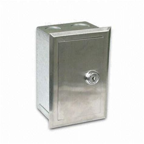 lockable light switch cover metal switch box toolbox lock used for supermarket on