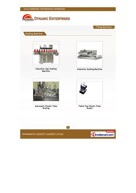 dynamic enterprisesmumbai filling machines