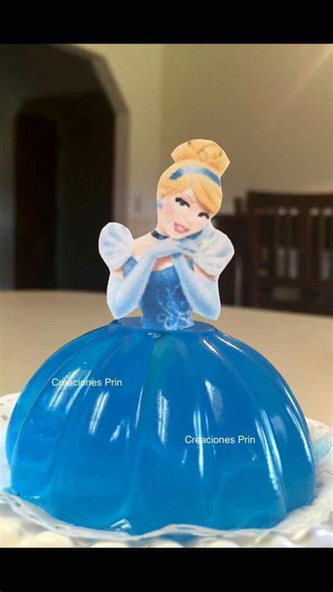 gelatina de princesa gelatinas de princesas