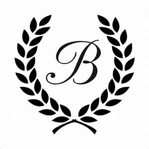 8 best images of c monogram stencils printable free With monogram letter stencils free