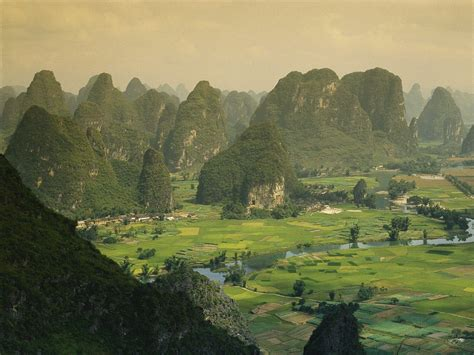 Nature Guangxi Province China Picture Nr 39993