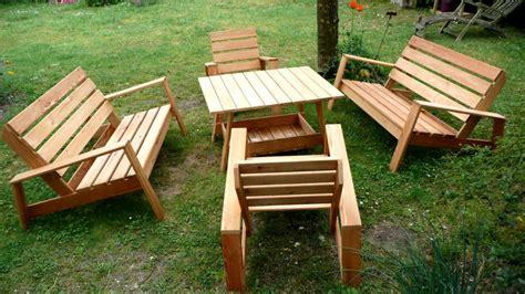 Meuble Jardin Bois Table Et Chaise De Jardin Metal