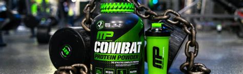 Amazon.com: MusclePharm Combat Protein Powder - Essential