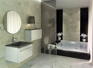 une salle de bain contemporaine deco in With salle de bain design moderne