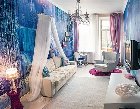bathroom wall mural ideas dreams come true s bedroom inspired by the frozen