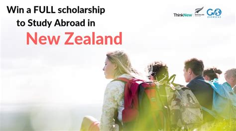 apply for a study abroad in new zealand scholarship go