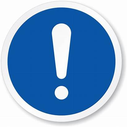 Mandatory Action Sign Circle Symbol General Iso
