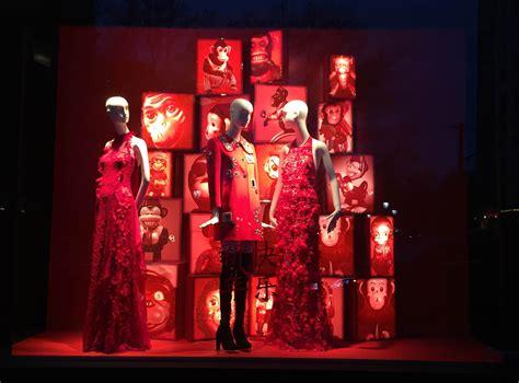 bergdorf goodmans window displays  york february