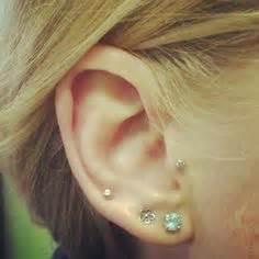 Lobe Ear Piercing Diagram by Ear Lobe Piercing Care Infection Healing Jewelry Price