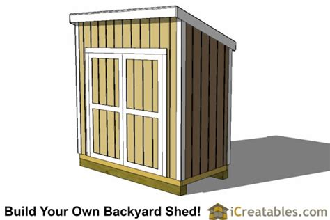 4x8 shed plans 4x8 storage shed plans icreatables