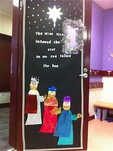 Christmas, Classroom, Door