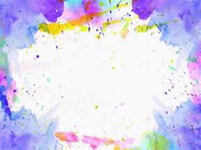 Watercolor Paint Splatter Texture