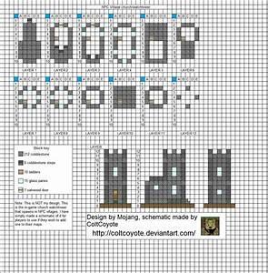Village Watch Tower   Minecraft Blueprints   Pinterest ...