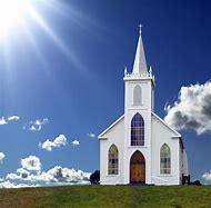 Small White Country Church