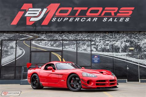 Viper Acr Nurburgring Time by Used 2010 Dodge Viper The Nurburgring Acr X 46 For Sale