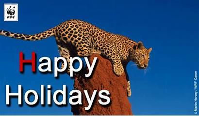 Holiday Wwf Leopard Animated Ecards Ecard Christmas