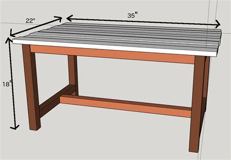 free simple end table plans diy coffee table plans writehookstudio com