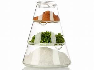 Deko Aus Glas : cucina di modena 4 teiliges deko glas zur aufbewahrung ~ Watch28wear.com Haus und Dekorationen
