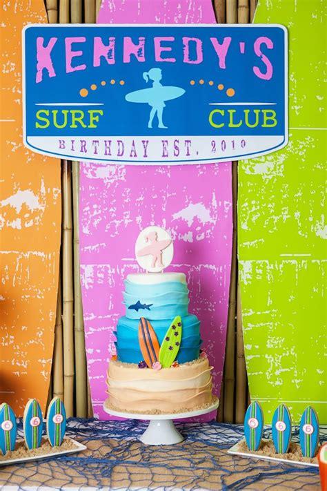 karas party ideas girly surfing party karas party ideas
