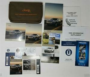 2016 Jeep Cherokee Owners Manual Set Free Shipping