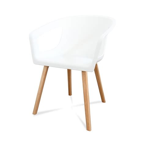 chaises design blanches chaises blanches