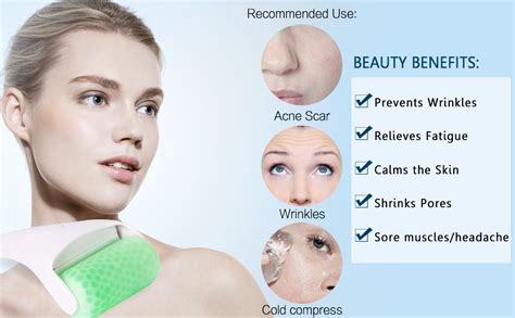 Amazon.com: ESARORA Ice Roller for Face & Eye,Puffiness