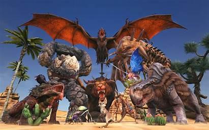 Ark Scorched Earth Wyvern Manticore Morellatops Elemental