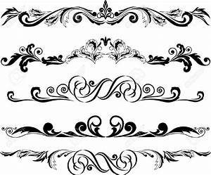 Decorative Horizontal Line Clipart (63+)