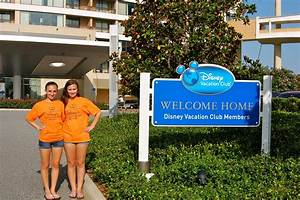 We love seeing the Disney Vacation Club signs that say ...