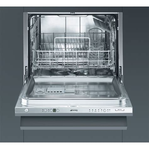 composite kitchen sinks smeg stc75 fully integrated compact dishwasher 60 cm eec a